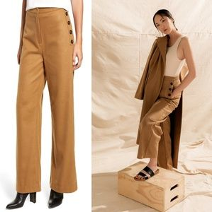 Chriselle Lim Victoria Wide Leg High Waisted Pants